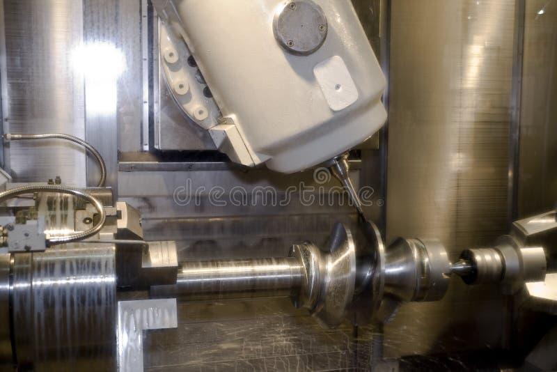 Cnc machine tool royalty free stock image