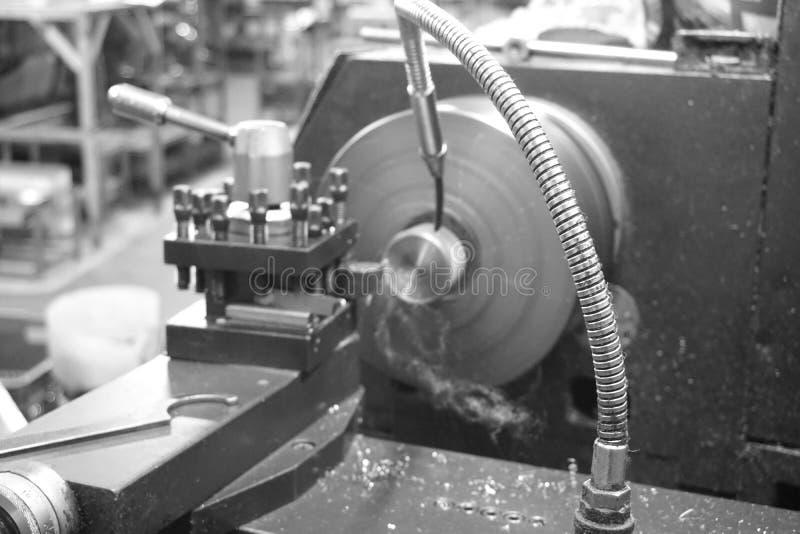 Cnc machineproces stock fotografie