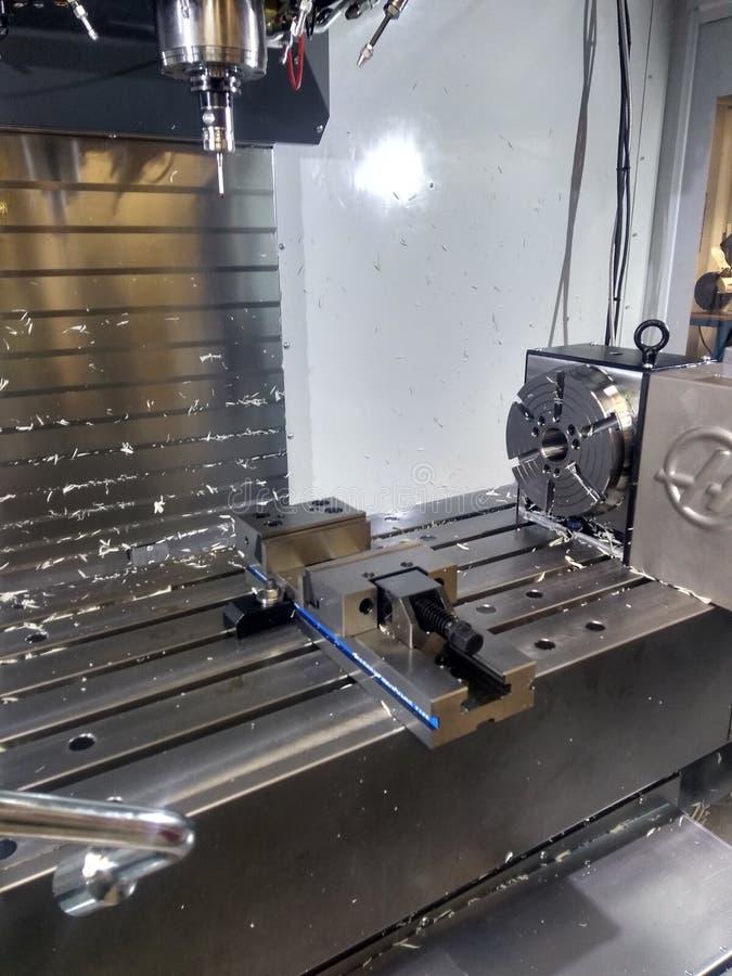 CNC-Maschinen, Hartmetall-cortador-Produktion, Technologie imagenes de archivo