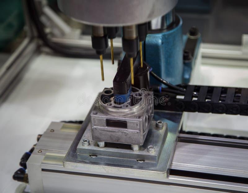 CNC mielenia maszyna zdjęcia royalty free