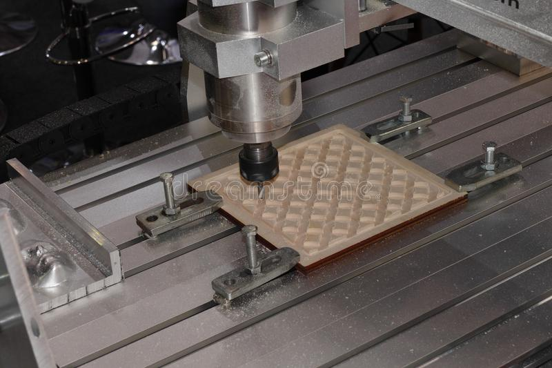 Cnc router stock afbeelding