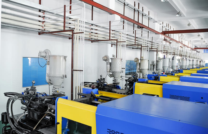 CNC workshop royalty-vrije stock foto