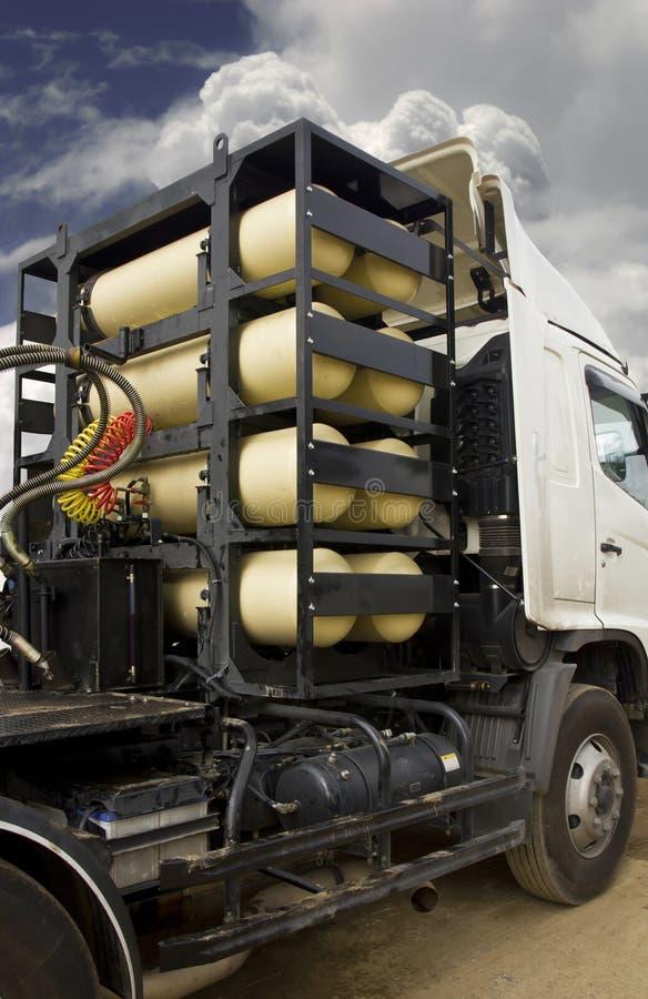 cng βαρύ truck δεξαμενών ngv αερίου στοκ εικόνα με δικαίωμα ελεύθερης χρήσης