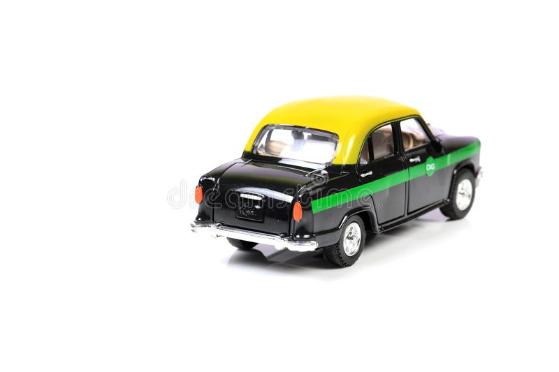 Cng taxi car stock images