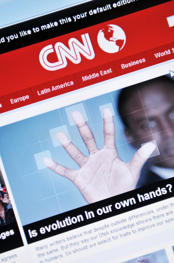Download CNN editorial photography. Image of reportage, networking - 18225112