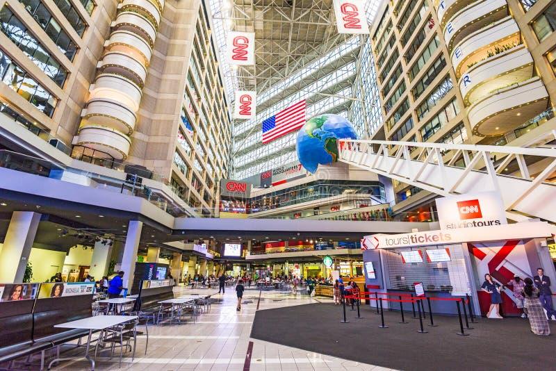 CNN-Centrum in Atlanta stock fotografie