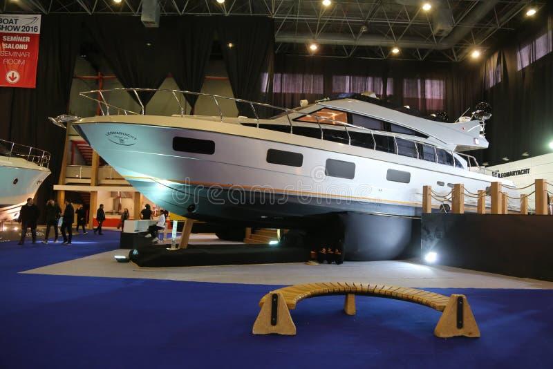CNR欧亚大陆小船展示 库存照片