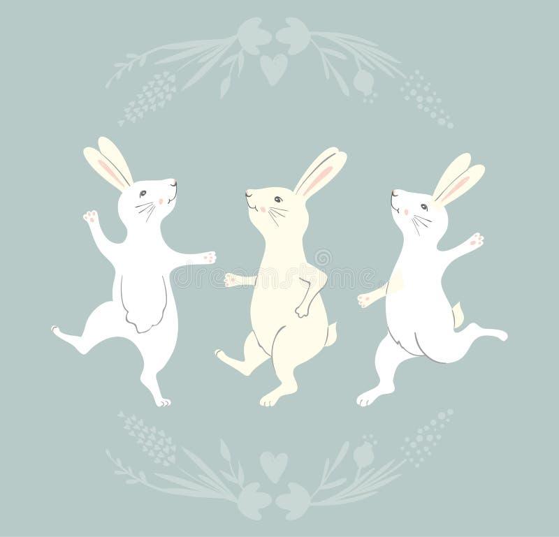 танцующий заяц картинка усердствуйте