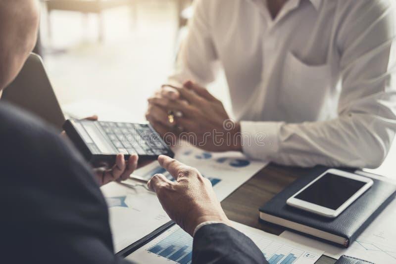 Co工作会议,遇见礼物,投资者c的企业队 免版税图库摄影