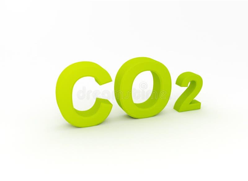 CO2 ελεύθερη απεικόνιση δικαιώματος