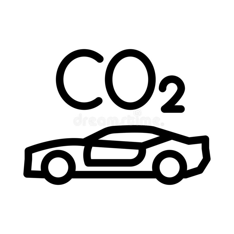 Doodle car emits carbon dioxide.