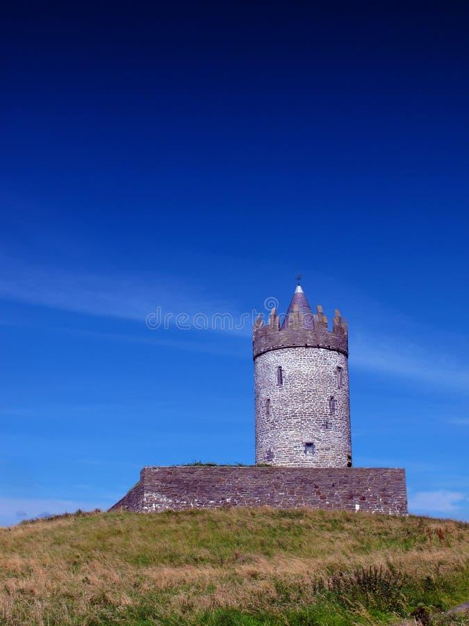 Co. Clare Ierland Van Doolin Van Het Kasteel Van Doonagore Royalty-vrije Stock Afbeelding