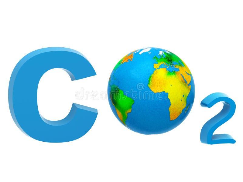 Download CO2 formula stock illustration. Image of earth, dioxide - 31040133