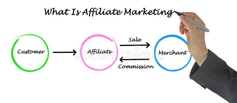 Co jest filii marketingiem obrazy stock