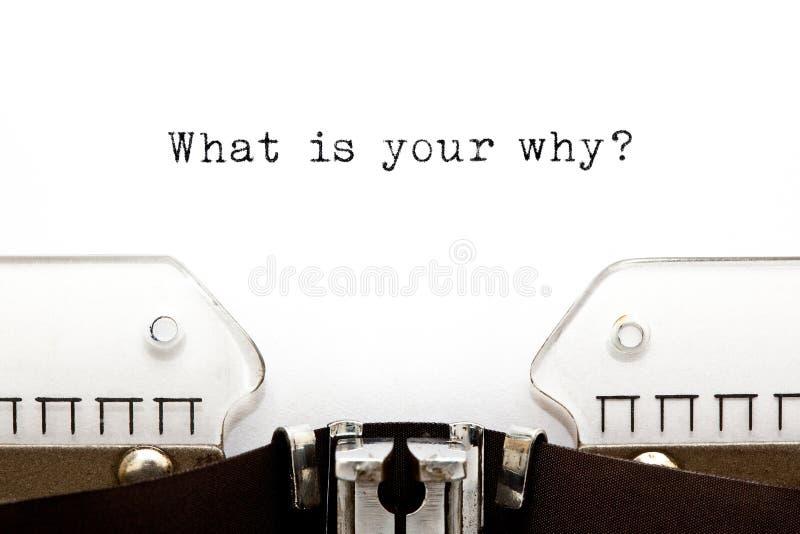 Co Jest Tw?j Dlaczego Egzystencjalny Kwestionuje obrazy stock