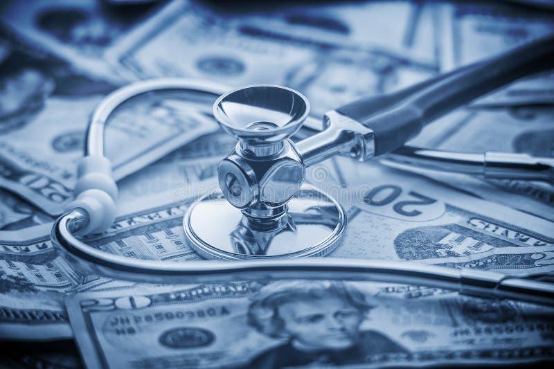 Coût de concept de soins de santé image libre de droits