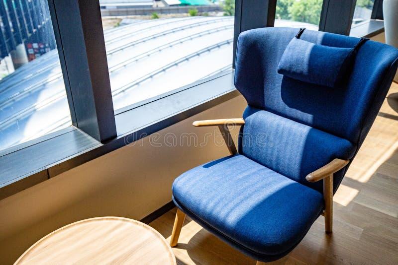 Co-werkende Ruimte met luxe comfortabel ontwerp voor het werk royalty-vrije stock foto