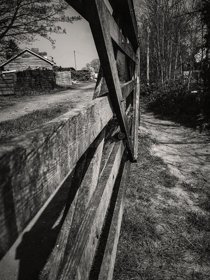 Co zapominał zamykać bramę? zdjęcie royalty free