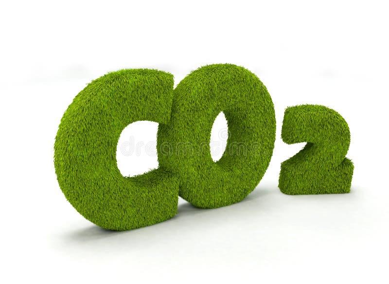 CO2 ilustração stock