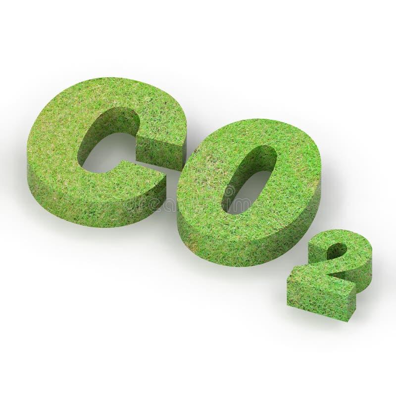 CO2 stock de ilustración