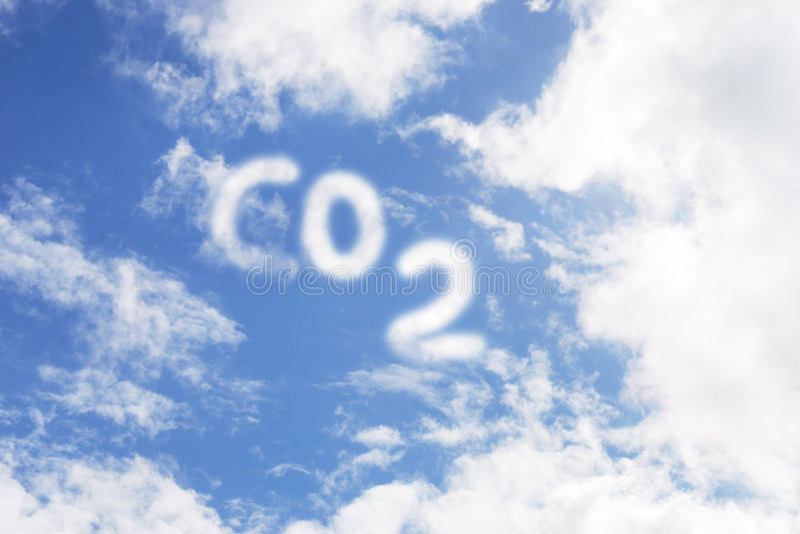CO2 foto de archivo libre de regalías
