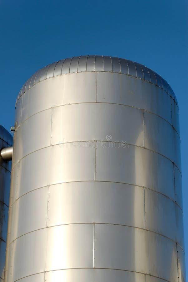 CO2 Vorratsbehälter lizenzfreie stockfotografie