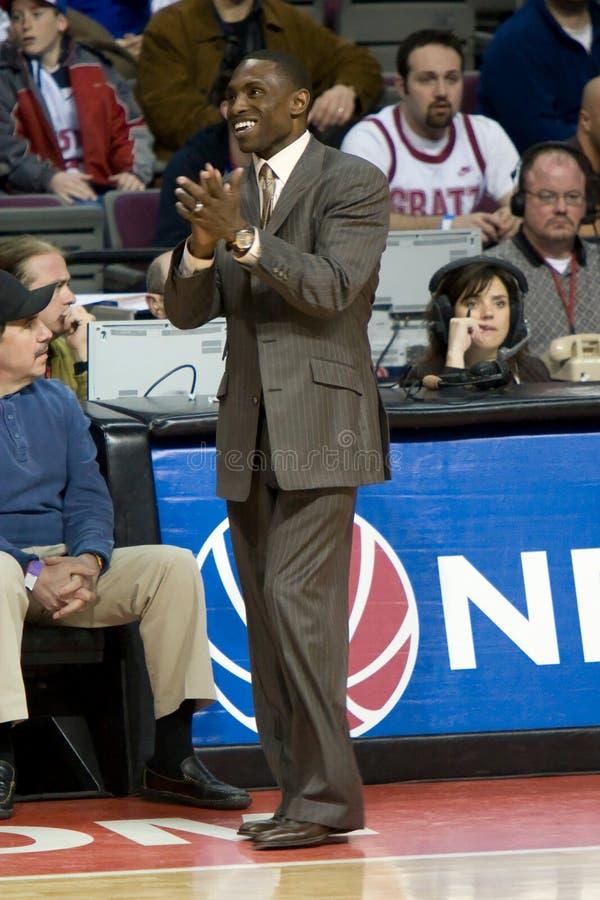 Coach Avery Johnson stock photography