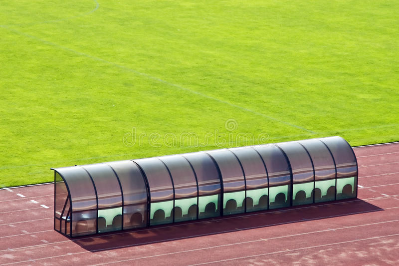 Download Coach bench stock image. Image of covered, public, open - 10534561