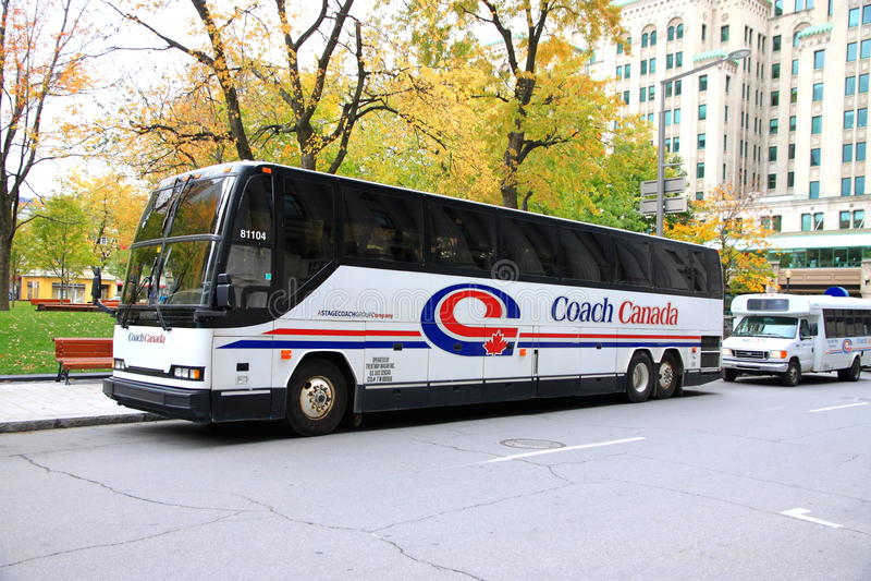 Coach Canada stock photography