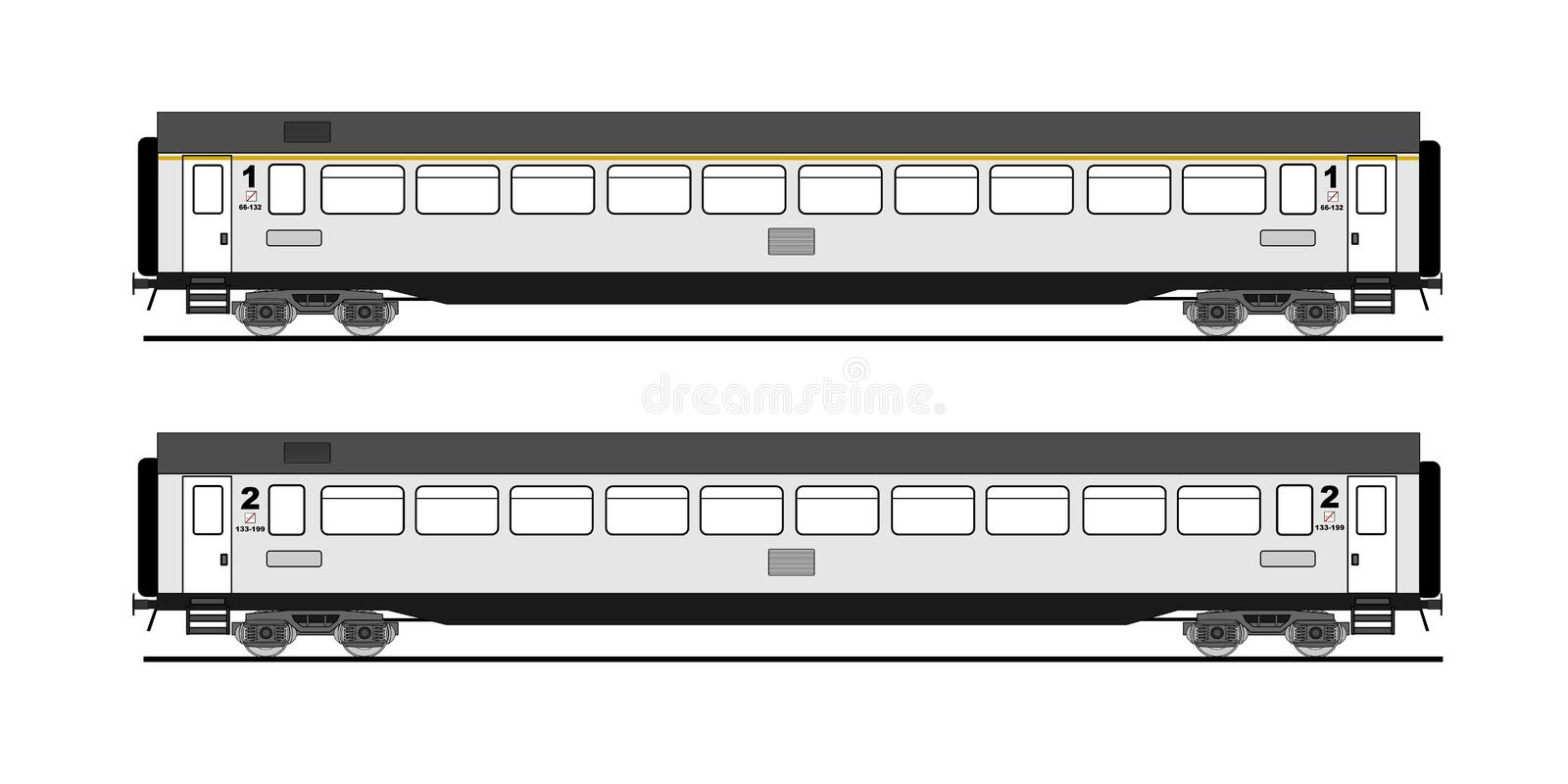Download Coach car stock vector. Image of high, class, collection - 16610133