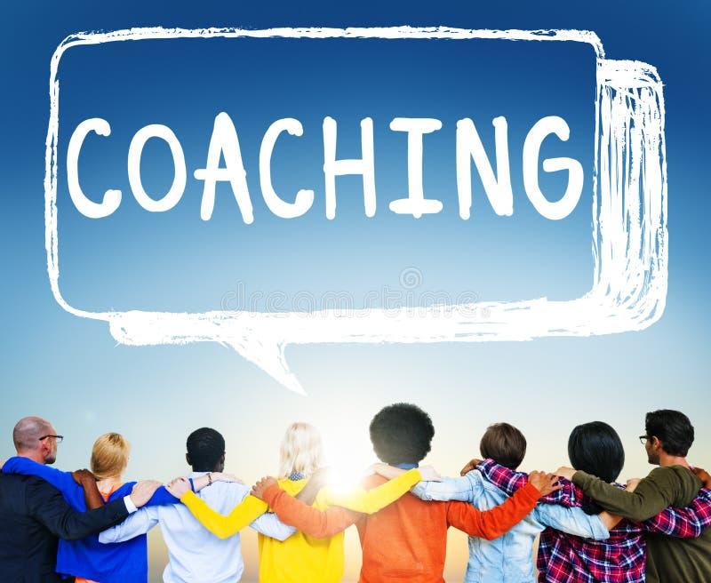 Coach Coaching Skills Teach Teaching Training Concept stock images