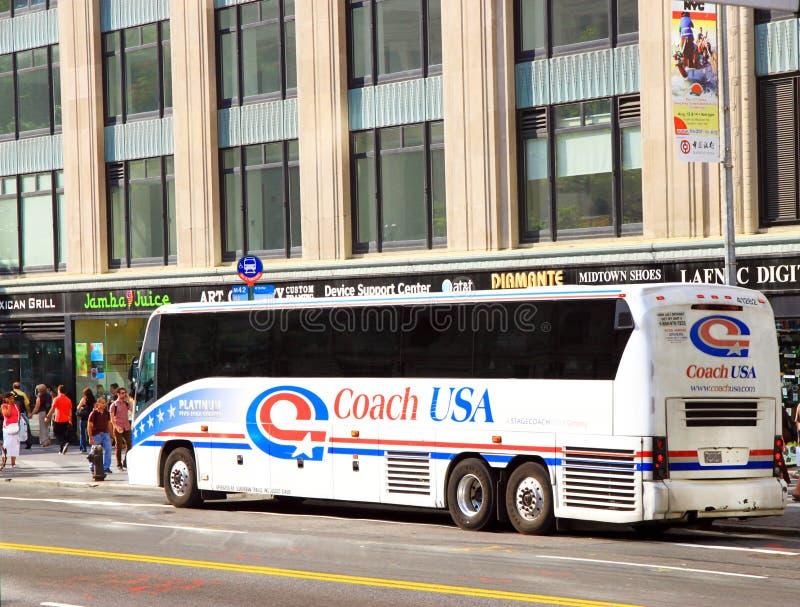 Coach USA royalty free stock photography