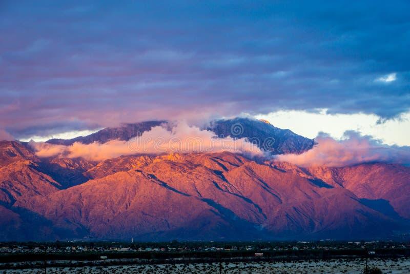 Coachella dolina, Kalifornia fotografia royalty free