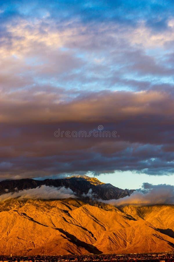 Coachella dolina, Kalifornia obraz stock