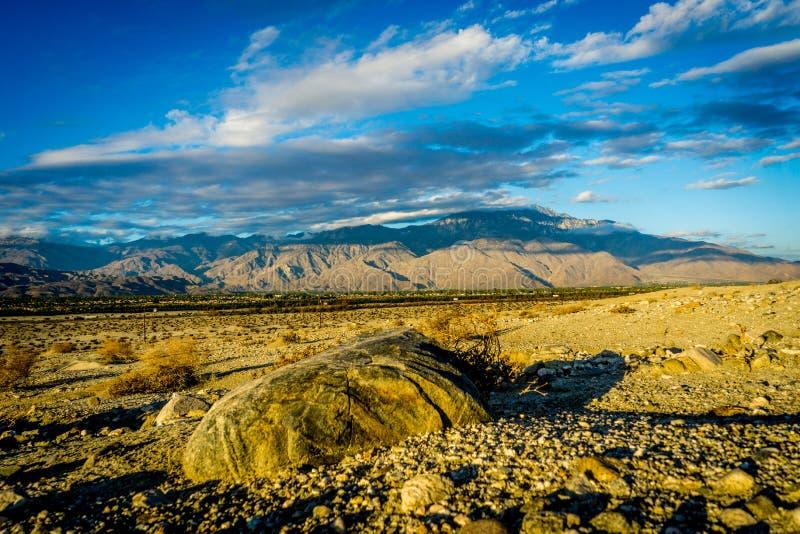 Coachella dolina, Kalifornia obraz royalty free