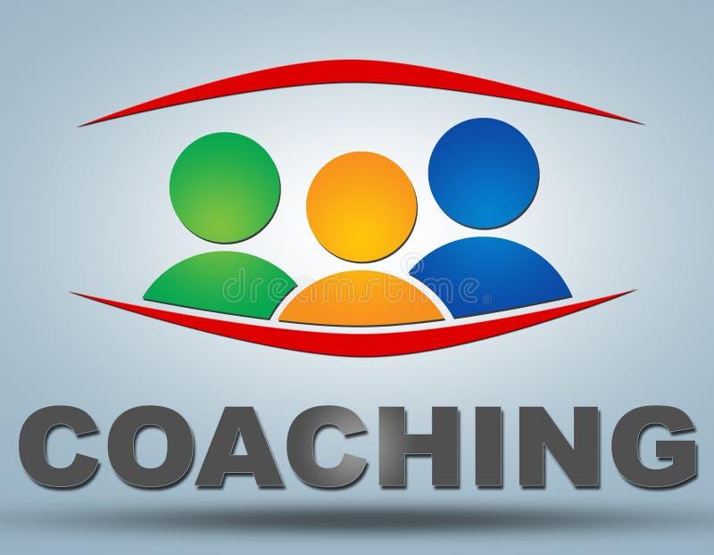 coaching stock de ilustración