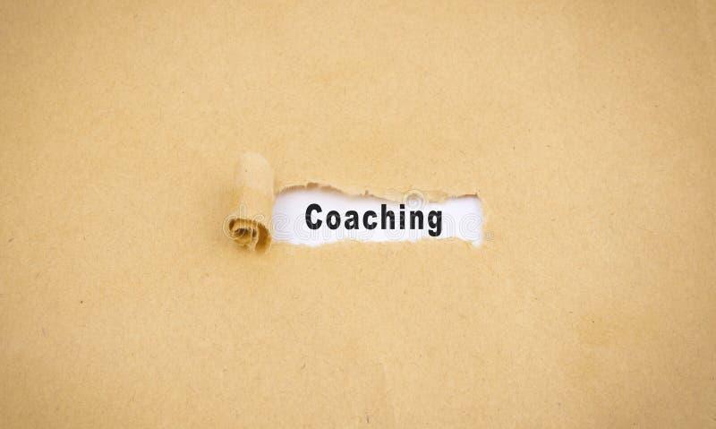 coaching stock fotografie