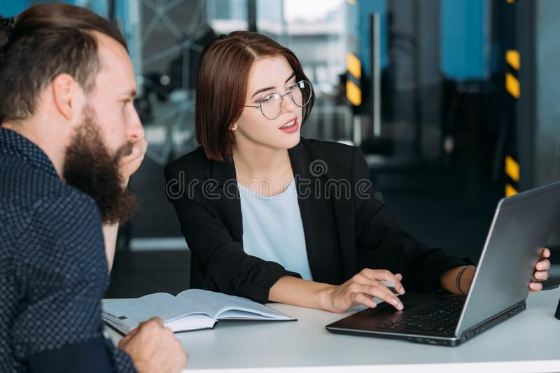 Coaching business training business success royalty free stock photography