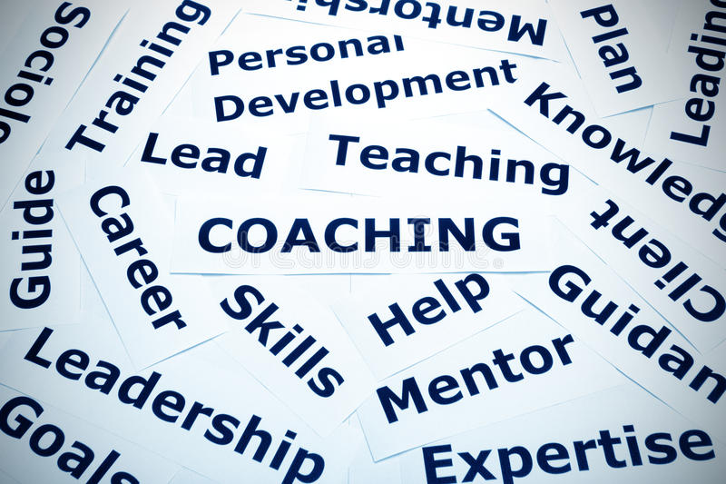 Download Coaching Concept Vignette Royalty Free Stock Photography - Image: 26498927