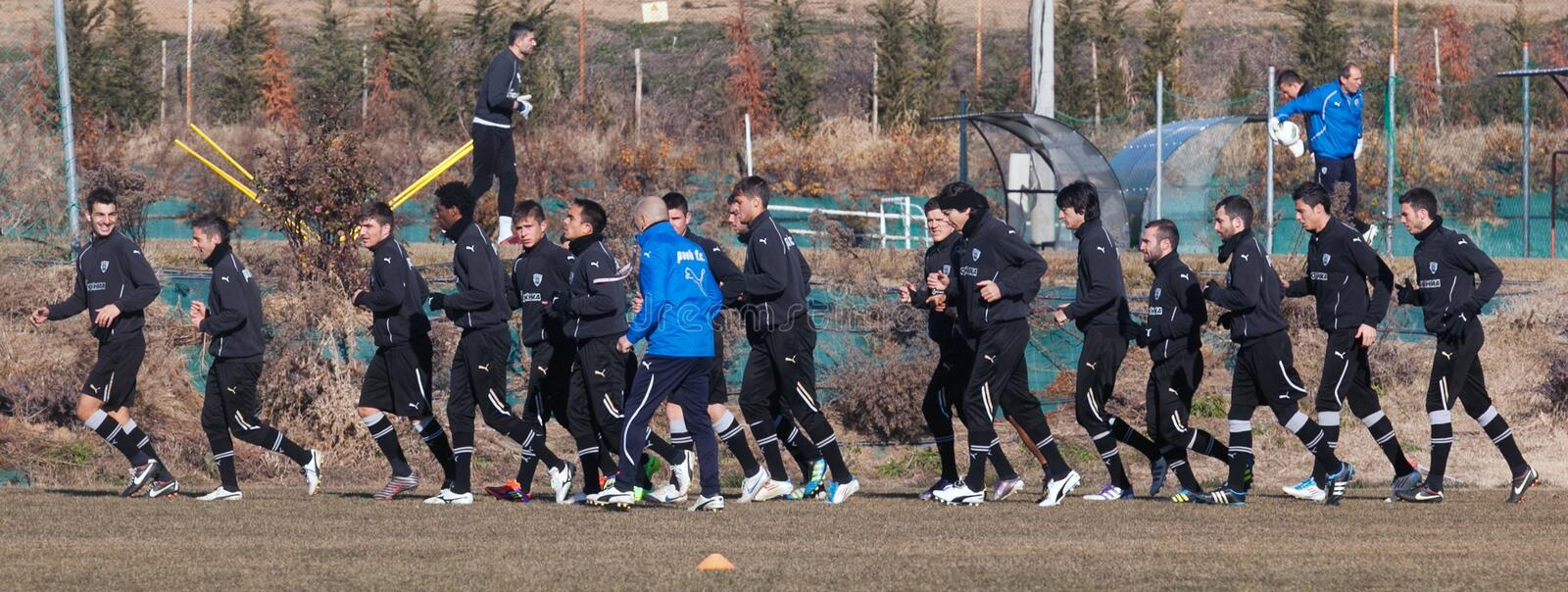 Download Coaching The Football Team Of PAOK Editorial Stock Photo - Image: 23434738