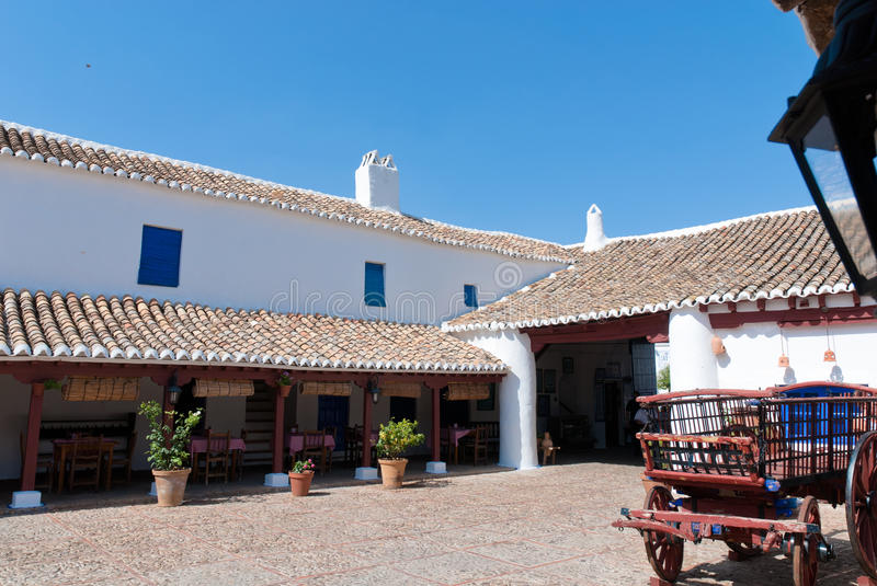 Download A Coaching In La Mancha, Spain. Stock Image - Image: 15279727