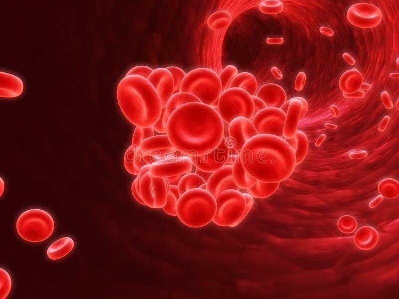 Coagulo di sangue fotografie stock