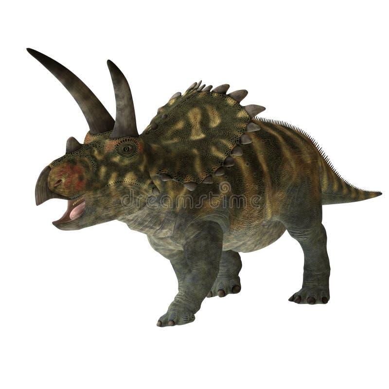 Coahuilaceratops 01 ilustração stock