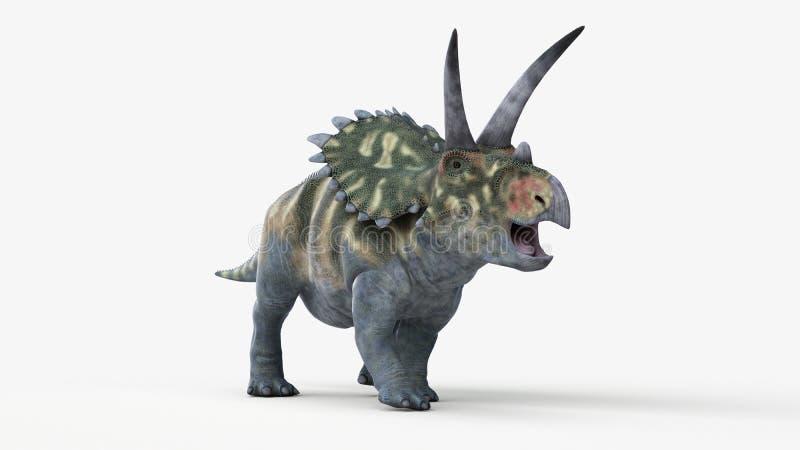 Coahuilaceratops ilustração do vetor