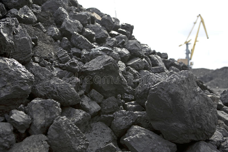 Coal. A background image of coal royalty free stock image