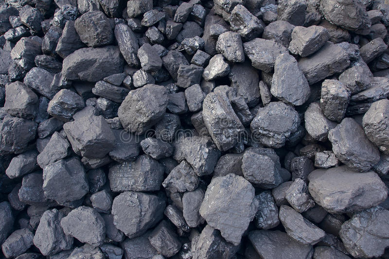 Coal cinder royalty free stock image