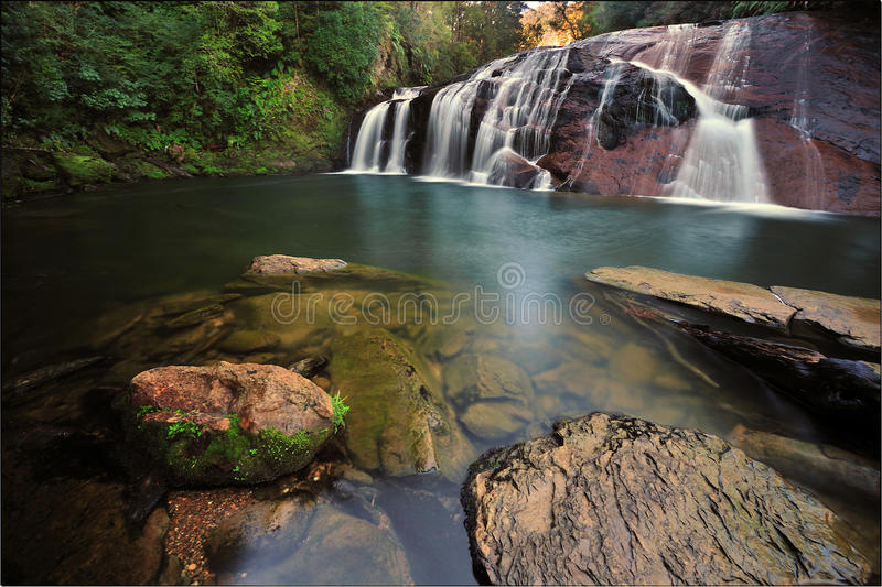 Coal Creek Falls, New Zealand royalty free stock photos