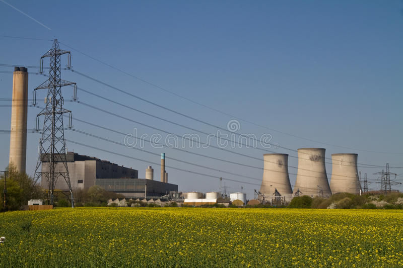 Download Coal Fired Power Station Royalty Free Stock Photo - Image: 13997895