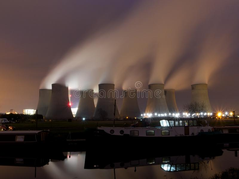 Download Coal fired power station stock photo. Image of atmosphere - 23159100
