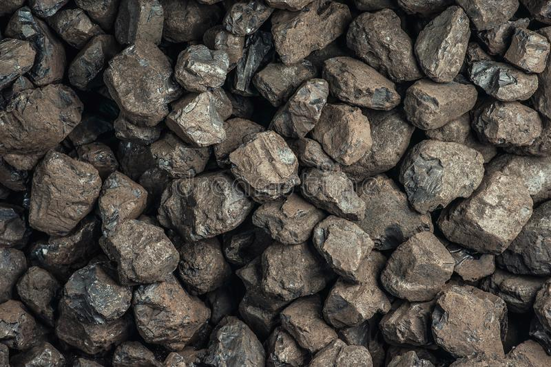 Coal, heavy industry, heating, mineral resources royalty free stock image